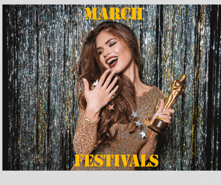 Notable Festivals in March