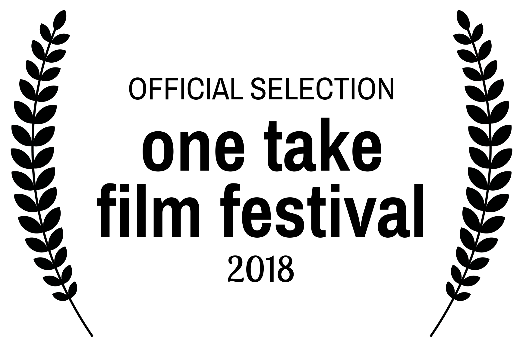 OFFICIAL SELECTION one take film festival 2018 - Lavenders Blue gets first festival selection in Zagreb